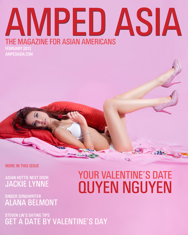 Amped Asia February Cover Model - Quyen Nguyen