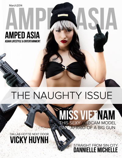 Amped Asia Cover