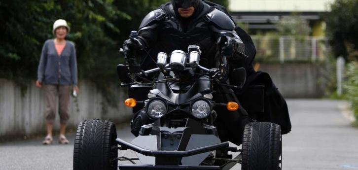 Chiba Japan Batman