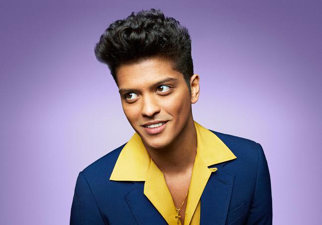 Bruno Mars Asian Hairstyle