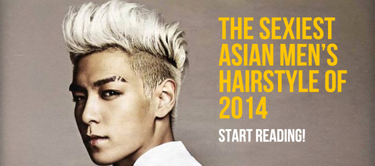Sexiest Asian Hairstyle for Men