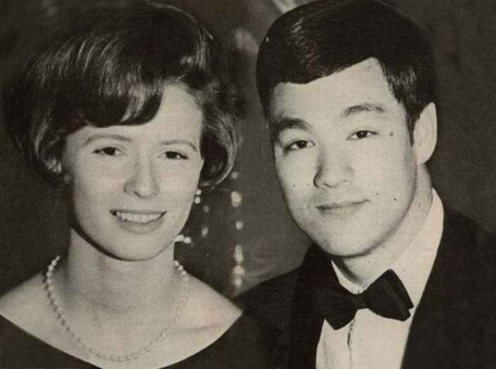 Bruce Lee and Linda Lee