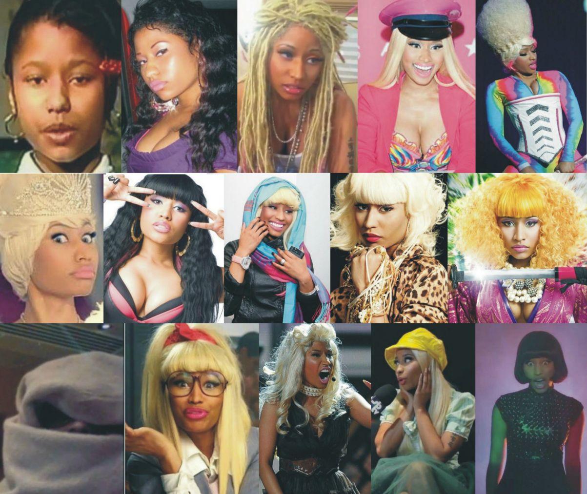 Nicki Minaj alter egos