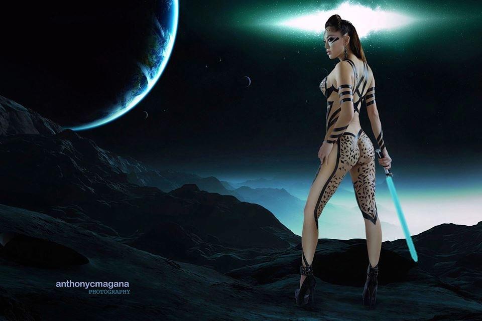 Gwen Garci Warrior
