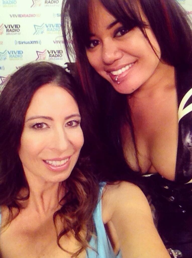 Annie Cruz and Christy Canyon