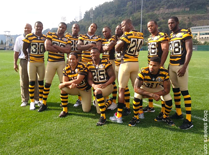 df77d2ca1 Steelers to bring back the bumblebee uniforms in 2015 : nfl
