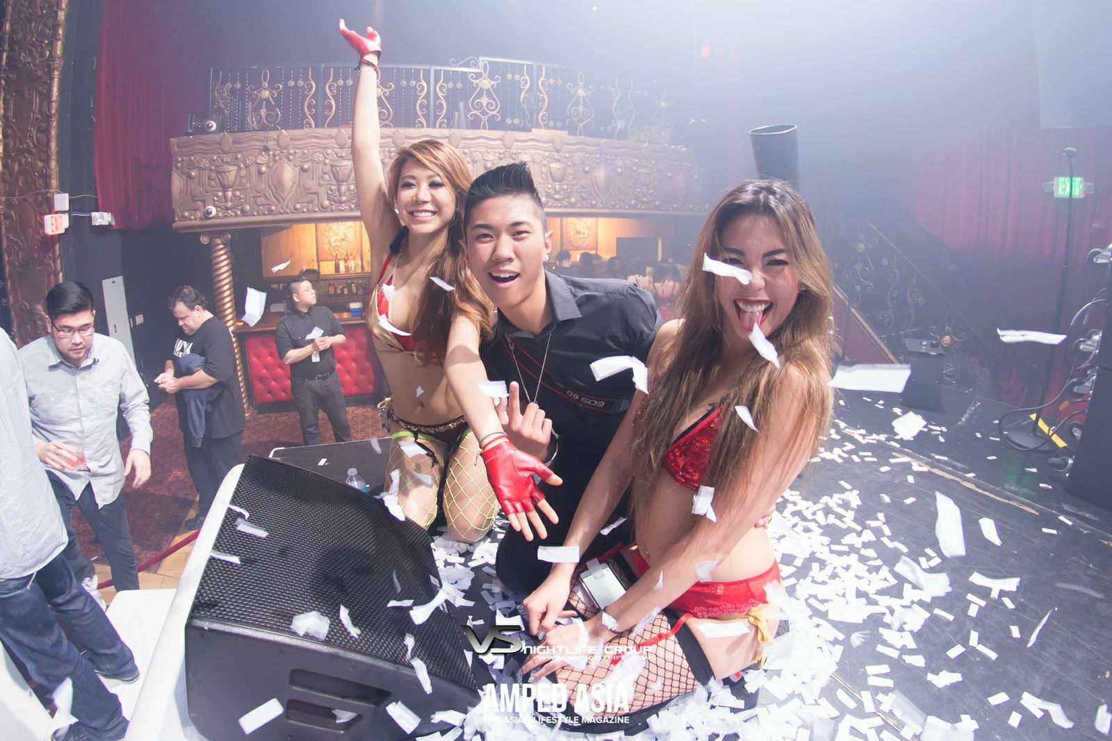Opinion, Asian clubs in los angeles question