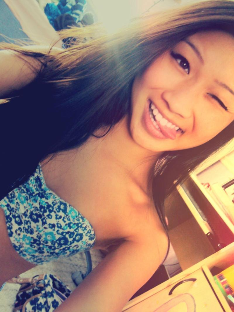 Asian teen selfies