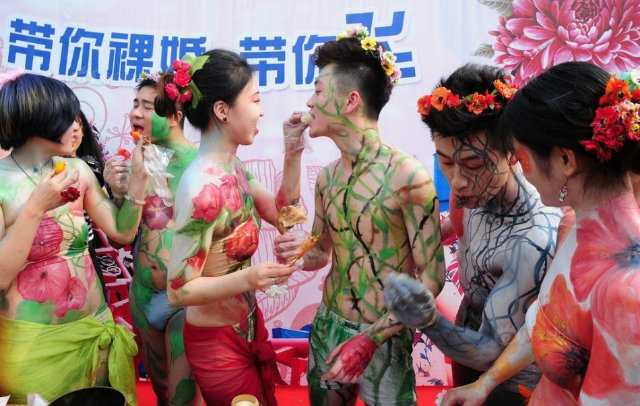 Ist china naked wedding deleted her