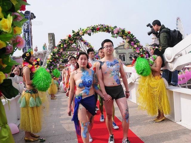chinese weddings naked