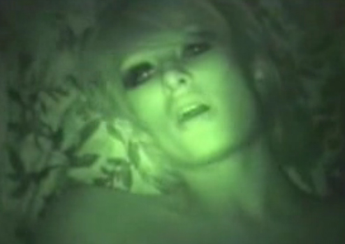 Night vision of naked women