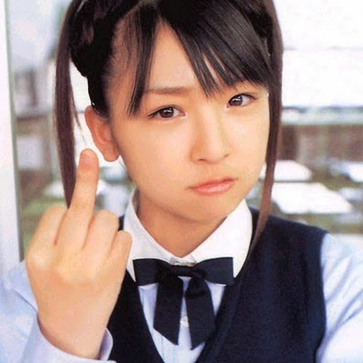 School girl fingers