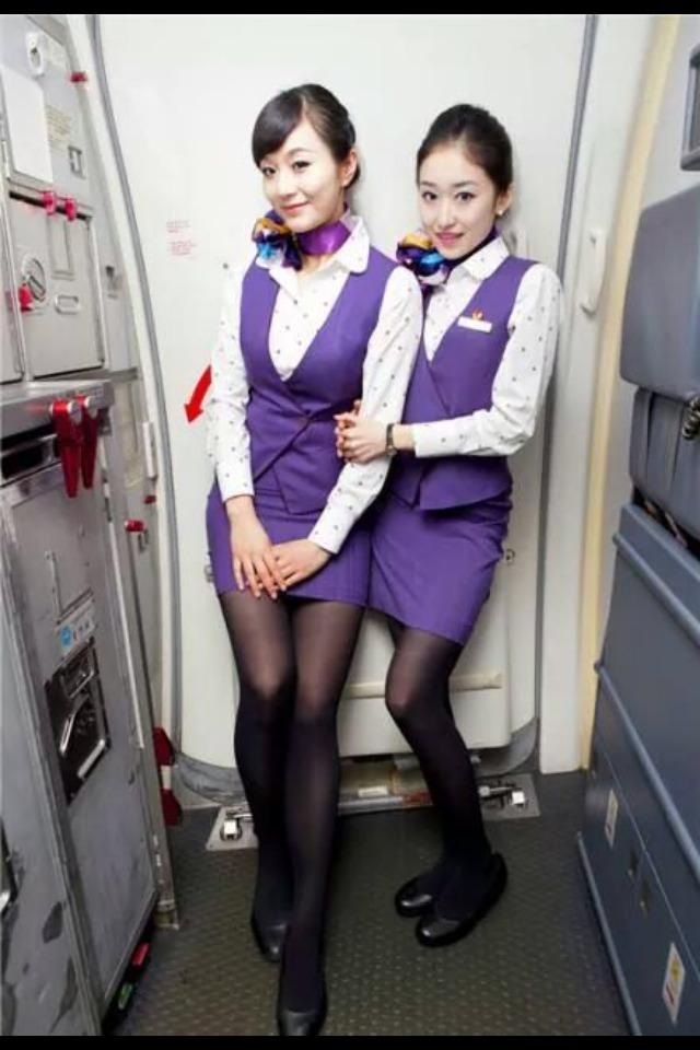 video-asian-air-hostess-beuty
