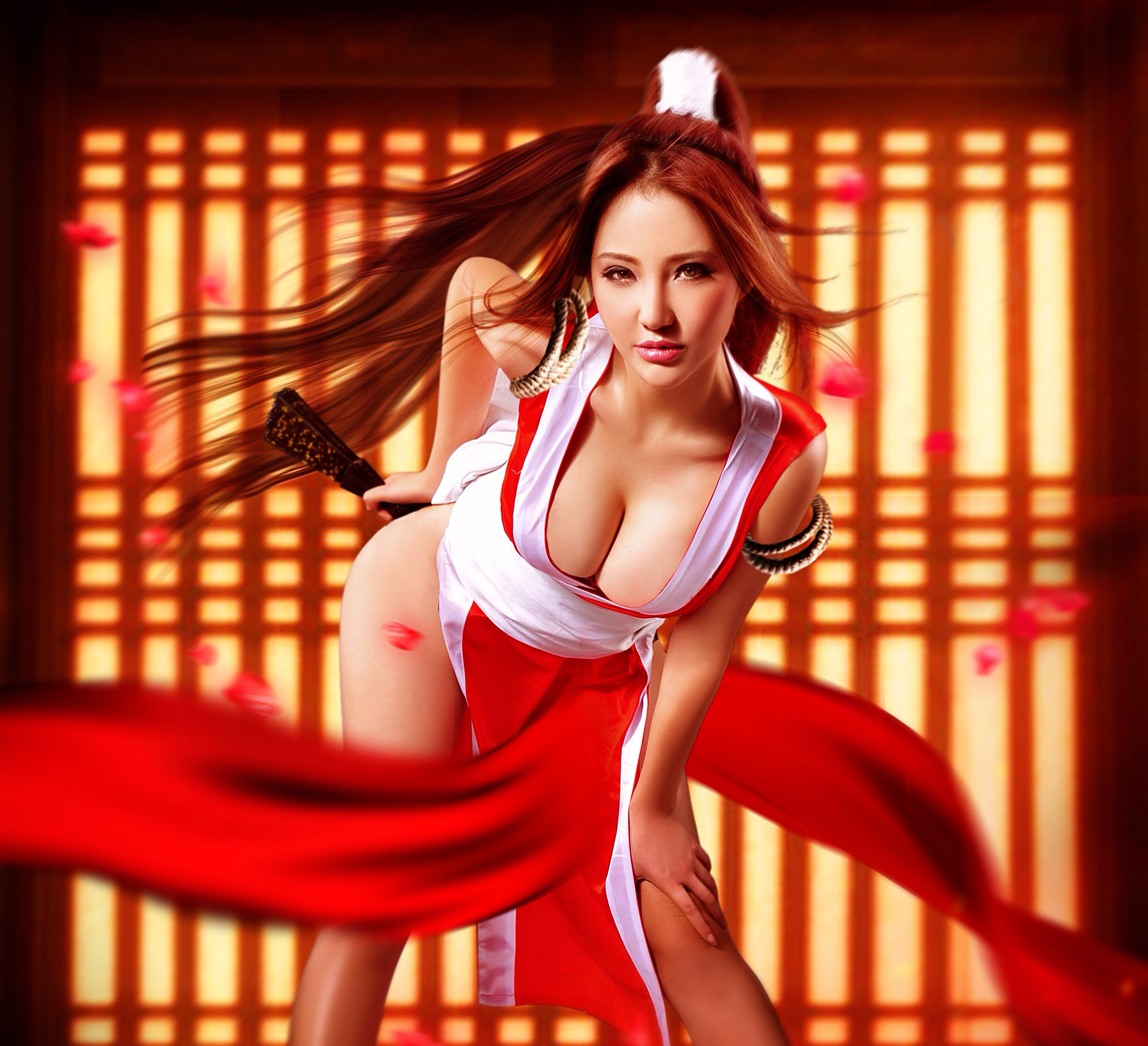 Share The king of fighter sex mai apologise