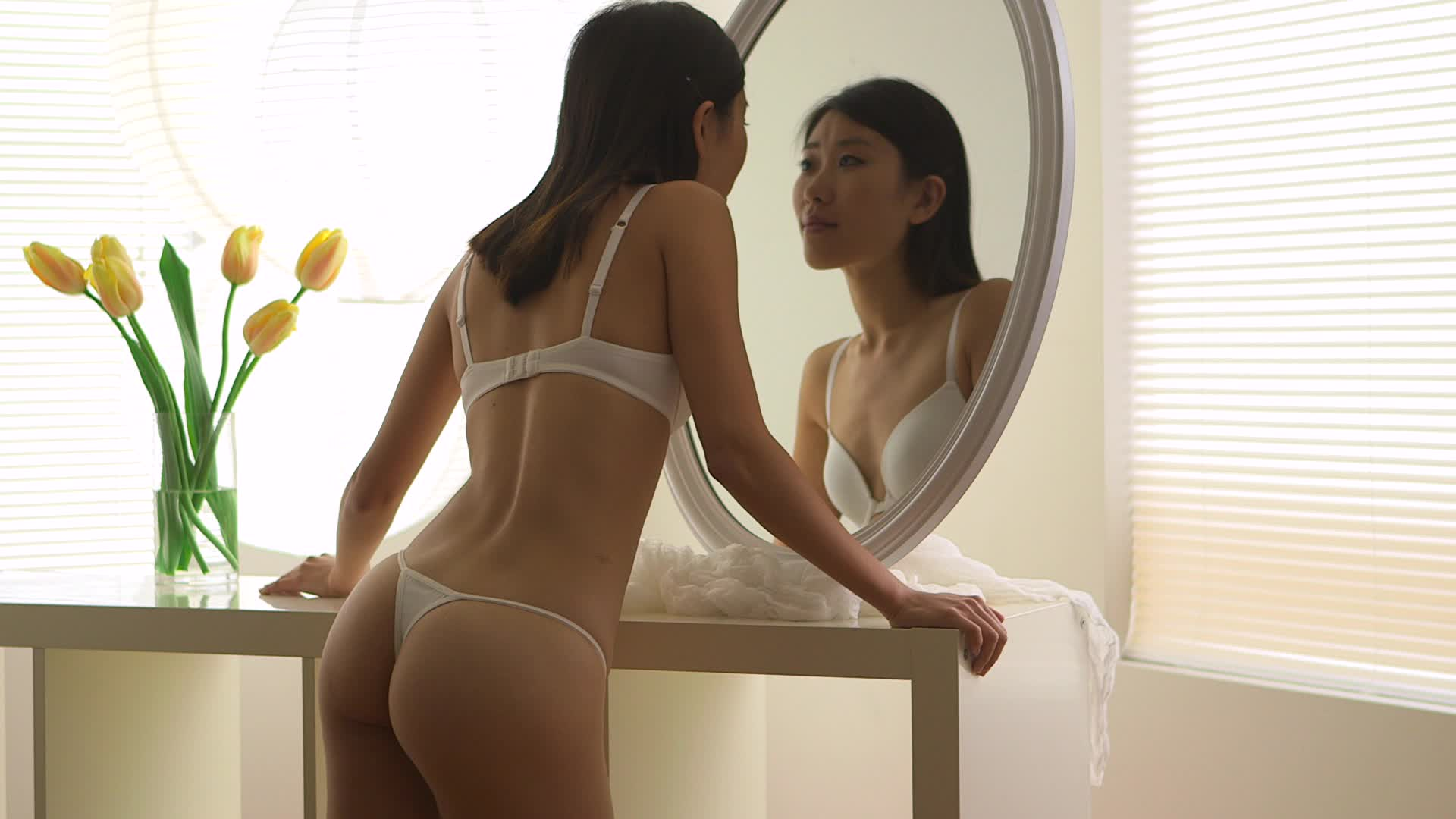 8 asian girls that make us thankful for thongs amped asia for Looking for mirrors