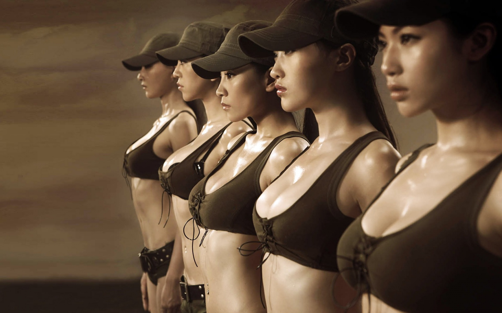 Women soldiers chinese naked