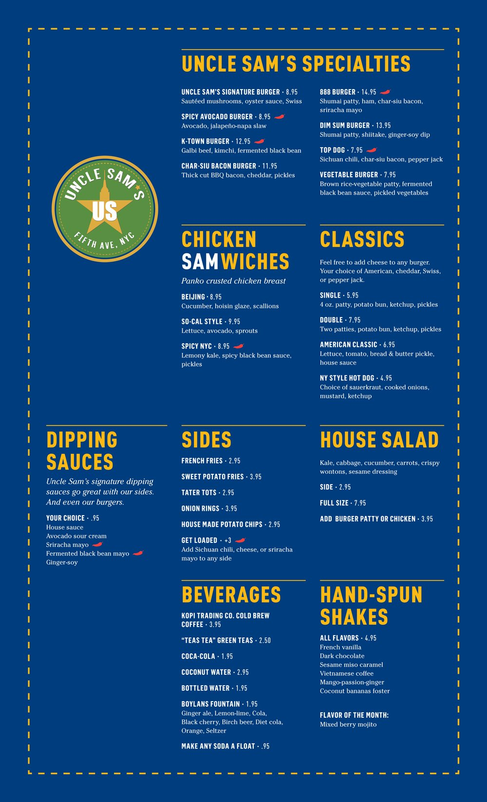 uncle-sam's-menu