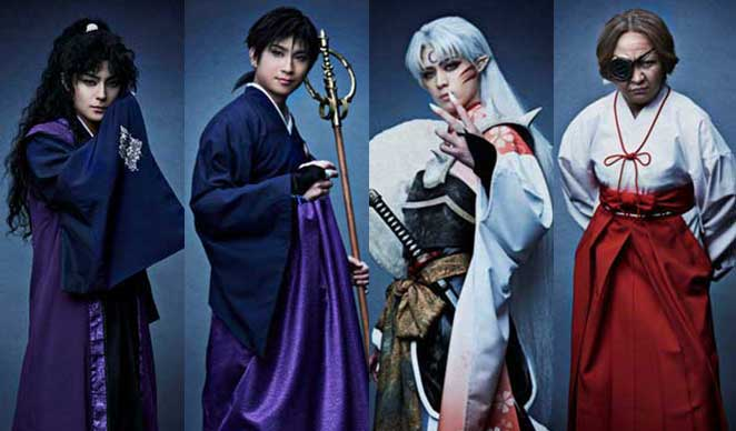 theres a live action play of inuyasha amped asia
