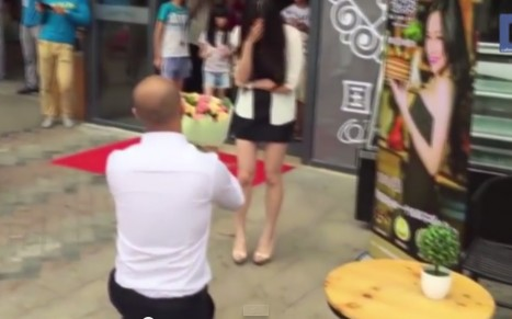 Watch This Man Propose With More Than 20 Supercars – You Will Weep At Her Response