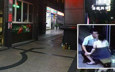 Taipei Couple Caught Having Sex On Public Restaurant Bench